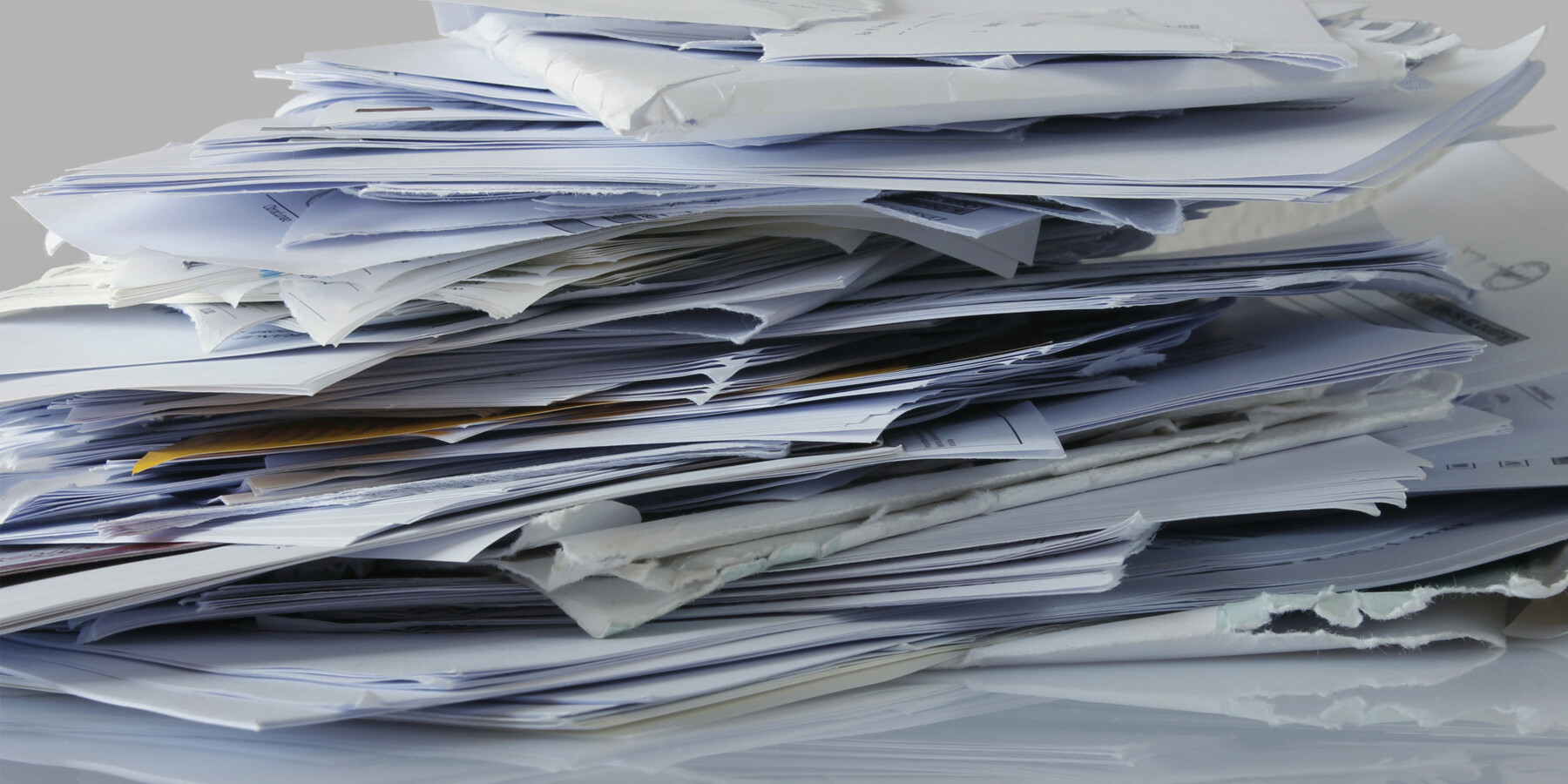 big pile of papers
